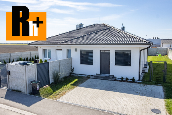 Foto Miloslavov ***ZP: 93m2, PP: 229m2*** na predaj rodinný dom - TOP ponuka