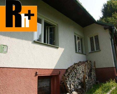 Foto Horná Mariková Pagaňov na predaj rodinný dom - rezervované