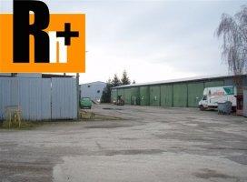 Moldava nad Bodvou na prenájom priemyselný areál
