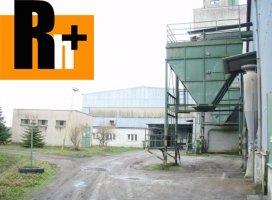 Priemyselný areál na predaj Moldava nad Bodvou