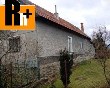 Foto Na predaj vidiecky dom Dubové