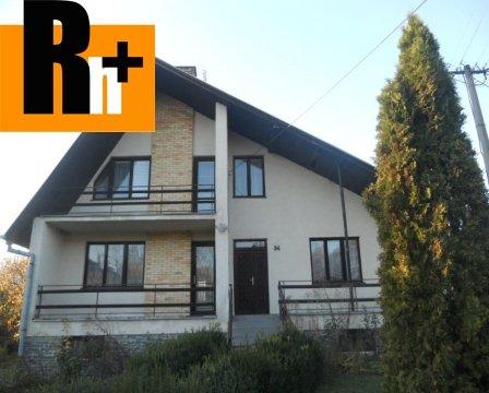 Foto Rodinný dom na predaj Sobrance 8 km od mesta - rezervované