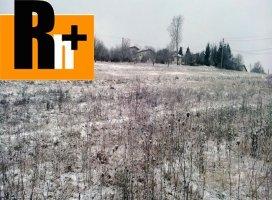 Pozemok pre bývanie na predaj Lietava
