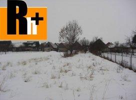 Vavrišovo okraj obce pozemok pre bývanie na predaj - TOP ponuka