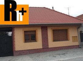 Rodinný dom Vozokany rekr.oblast na predaj - zrekonštruovaný