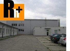 Priemyselný areál Bratislava-Rača Bratislava - Rača na predaj