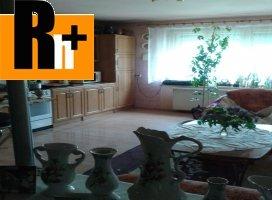 Rodinný dom na predaj Suchá nad Parnou