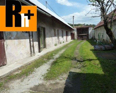 Foto Na predaj vidiecky dom Slovany obec