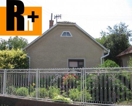 Foto Zemianska Olča Lipová rodinný dom na predaj