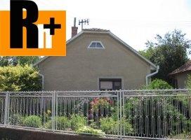 Zemianska Olča Lipová rodinný dom na predaj