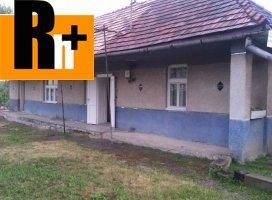 Na predaj vidiecky dom Ďurkov