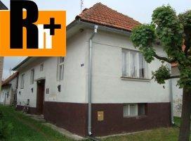 Rekreačný domček na predaj Vavrišovo stred obce