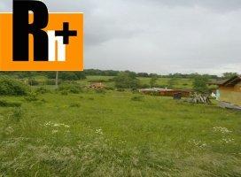 Na predaj Ruská Nová Ves pozemok pre bývanie - exkluzívne v Rh+