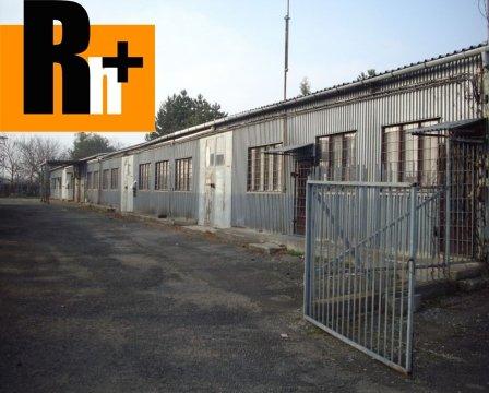Foto Sečovce Hlavná priemyselný areál na predaj - exkluzívne v Rh+