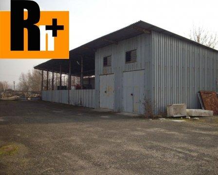 19. obrázok Sečovce Hlavná priemyselný areál na predaj - exkluzívne v Rh+