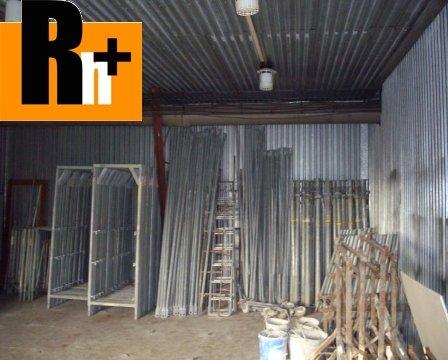 22. obrázok Sečovce Hlavná priemyselný areál na predaj - exkluzívne v Rh+