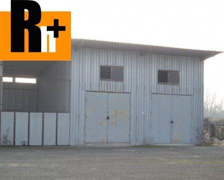 5. obrázok Sečovce Hlavná priemyselný areál na predaj - exkluzívne v Rh+