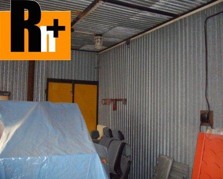 7. obrázok Sečovce Hlavná priemyselný areál na predaj - exkluzívne v Rh+