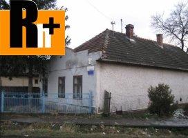 Tvrdošovce Malá na predaj rodinný dom