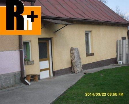 Foto Na predaj rodinný dom Košice-Šaca Ľudvíkov dvor - rezervované