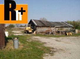 Na predaj pozemok pre komerčnú výstavbu Dunajská Streda drevarska