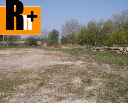 Foto Na predaj Dunajská Streda drevarska pozemok pre komerčnú výstavbu