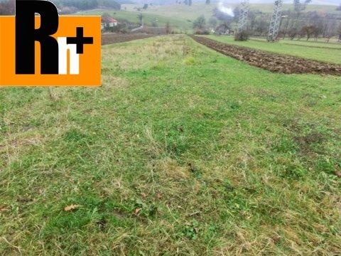 Foto Orná pôda Nitrianske Rudno na predaj - 2931m2