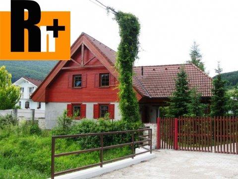Foto Na predaj Považská Bystrica Plevník-Drienové rodinný dom - znížená cena