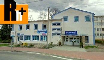 Obchodné centrum na predaj Medzilaborce