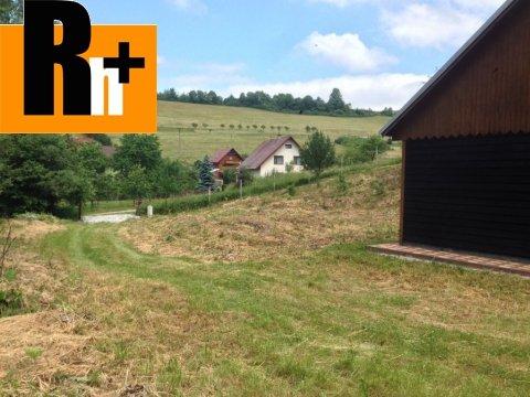 Foto Kysucké Nové Mesto pre rekreačné účely, výstavba chaty na predaj trvalý trávnatý porast