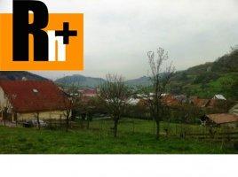 Na predaj pozemok pre bývanie Kysucké Nové Mesto Horný Vadičov