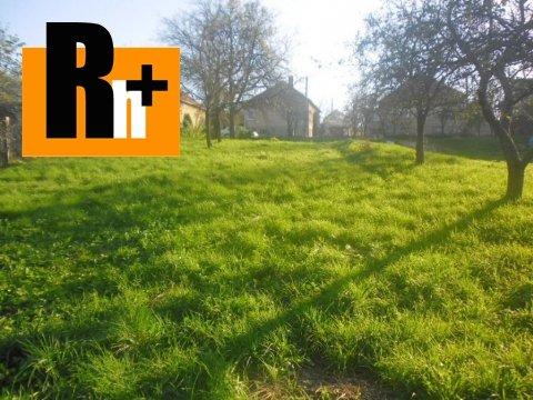 Foto Na predaj Veľké Kršteňany tichá lokalita pozemok pre bývanie