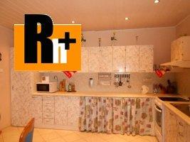 Rodinný dom na predaj Zlaté Moravce Parková - zrekonštruovaný