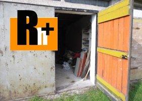Na predaj Martin garáž jednotlivá