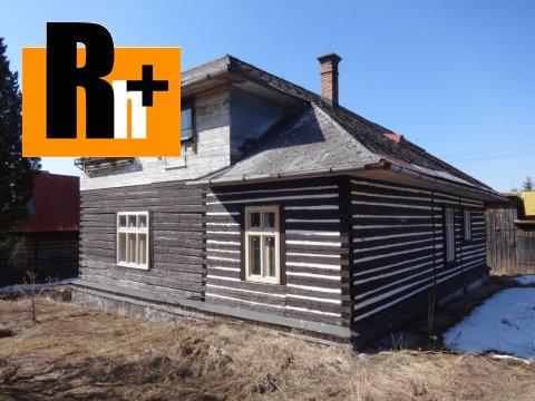 Foto Rekreačný domček Šumiac Hlavná na predaj - znížená cena