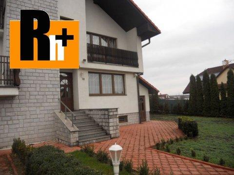 Foto Na predaj Košice-Pereš Svidnícka rodinná vila - znížená cena