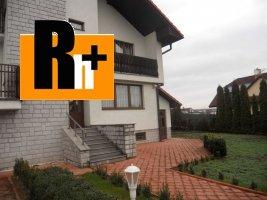 Na predaj Košice-Pereš Svidnícka rodinná vila - znížená cena