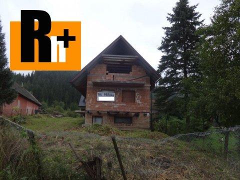 Foto Liptovské Kľačany okraj obce na predaj penzión - vo výstavbe