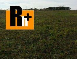 Pozemok pre bývanie Horná Súča Trnavka na predaj