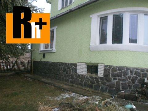Foto Na predaj Vranov nad Topľou Nižný Hrabovec rodinný dom - tehlová stavba