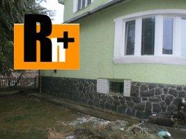 Na predaj Vranov nad Topľou Nižný Hrabovec rodinný dom - tehlová stavba