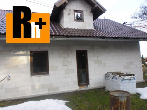 Foto Na predaj rodinný dom Bystrička