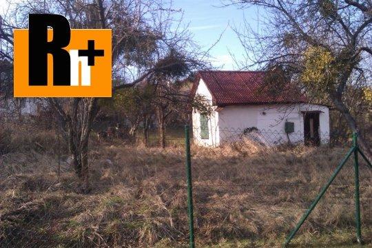 Foto Košice-Pereš Gelnická záhrada na predaj - rezervované