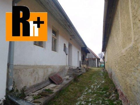 Foto Na predaj Pribylina 2 za cenu 1 vidiecky dom - ihneď k dispozícii
