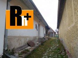 Na predaj Pribylina 2 za cenu 1 vidiecky dom - ihneď k dispozícii