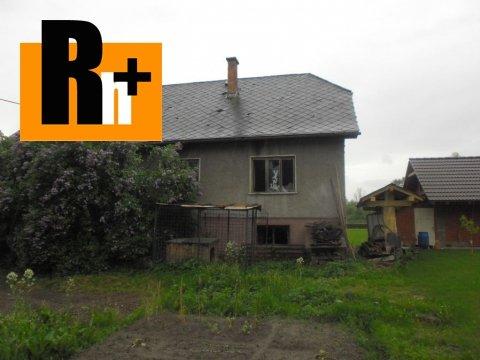 Foto Rodinný dom Dolný Kubín na predaj - exkluzívne v Rh+