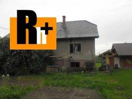 Rodinný dom Dolný Kubín na predaj - exkluzívne v Rh+
