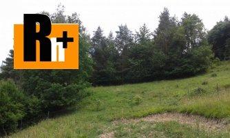Na predaj pozemok pre bývanie Žilina Strážov - osobné vlastníctvo