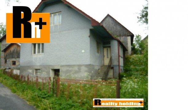 Foto Horný Vadičov rodinný dom na predaj - 908m2