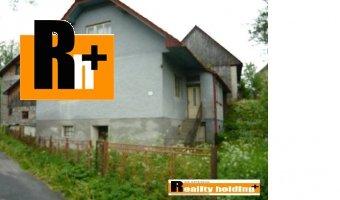Horný Vadičov rodinný dom na predaj - 908m2